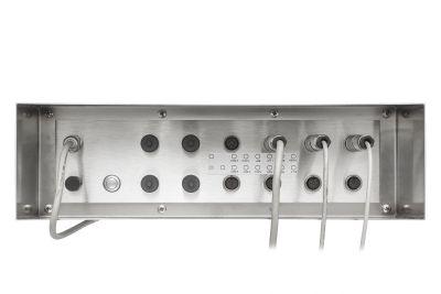 Edelstahl Computer Binder