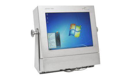 Edelstahl Computer Front15 Min