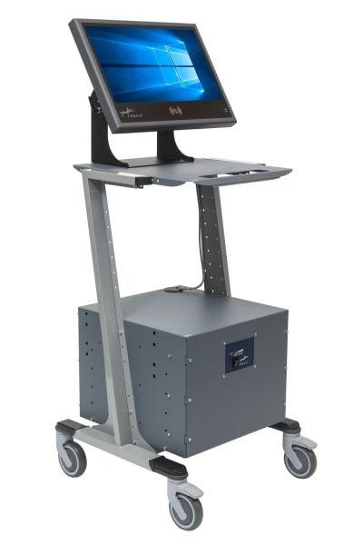Mobiler PC Arbeitsplatz ISO Min