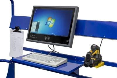 Mobiler Arbeitsplatz Akku 3D Bedienumfeld Min