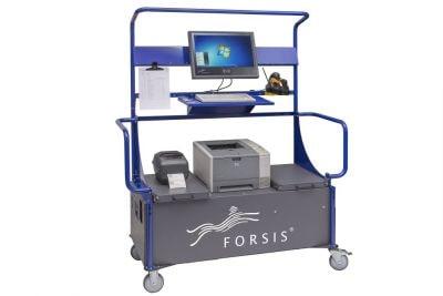 Mobiler Arbeitsplatz Akku 3d Front Min