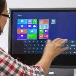 Panel PC Multitouch Application Max Min